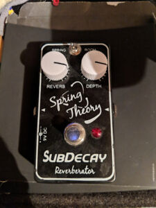 Subdecay Spring Theory Reverb