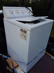 White Westinghouse wash machine  ( Parts or repair)