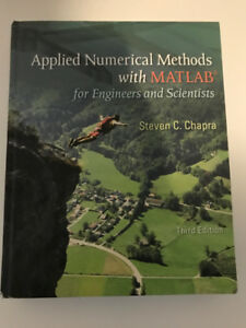 Applied Numerical Methods with MATLAB Textbook *Great Deal!*