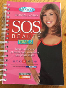 SOS Beauté Chantal Lacroix vol. 1 et 2 10$chacun 418-690-6151