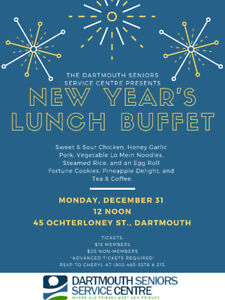 New Year's Lunch Buffet