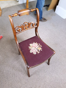 Ornate Occasional Antique Chair