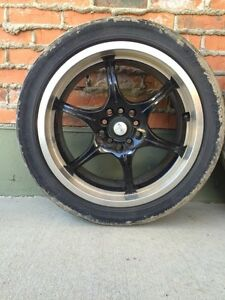 17' rims , were on a subaru and a jetta