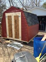 Need a new shed garage or deck ?