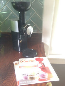 Swirlo Frozen Fruit Dessert Machine (like Yonanas) Like-New