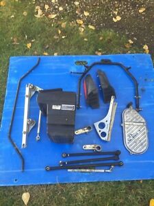 2001 skidoo zx fuel tank and other misc parts Strathcona County Edmonton Area image 2
