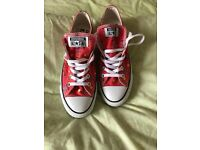 Converse Andy Warhol special edition platform trainers