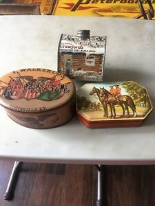 VINTAGE COLLECTIBLE TINS