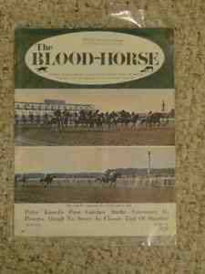 Blood Horse Magazines - triple crown issues etc Strathcona County Edmonton Area image 4