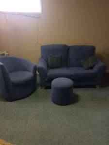 lover seat and chair