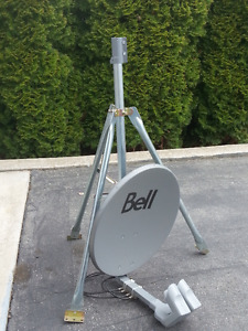 BELL DISH/RECEIVERS WITH TRIPOD