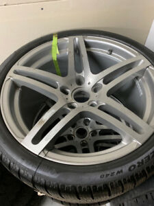 Porsche Replica Wheels+Tires (997) (set of 4)