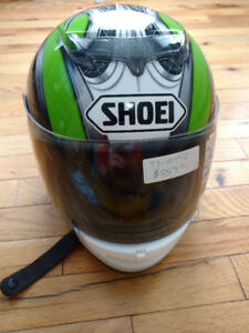 Shoei helmet NEW stickers still on