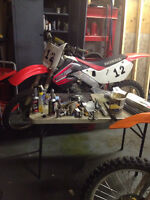 1999 cr125r with spare motor