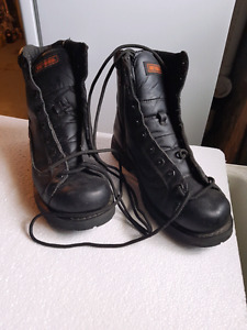 Men's 9.5 leather Harley boots