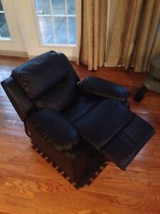 Kids Leather Recliner - Like New