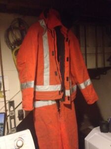 XL Tough Duck insulated overalls & jacket