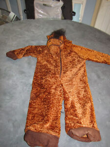 costume cheval 4-6 ans