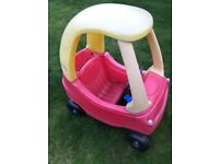 Little Tykes Cosy Coupe Ride in Car