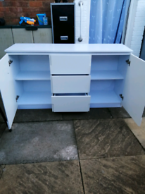 Cuboard and 3 drawers