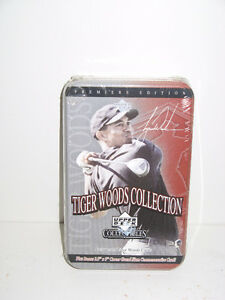 2001 UPPER DECK TIGER WOODS COLLECTION PREMIERE EDITION