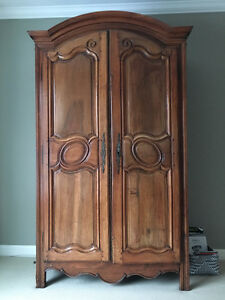 Antique one of a kind armoire