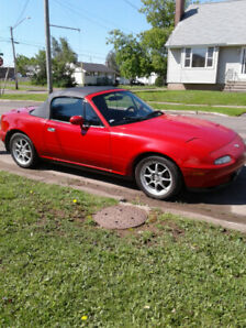 1994 Mazda Miata MX5 with supercharger