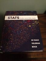 Stats; Data and Models Textbook **NEW PRICE**