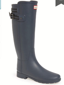 Hunter Women's Refined Original Back Strap Rainboots
