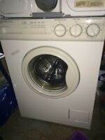 Front loading washer dryer 24 inch for repair
