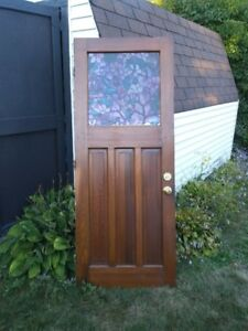Free exterior door..32 by 80 inches