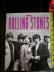 The Rolling Stones - Unseen Archives hardcover UK book 2002