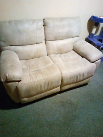 2 seater electric recliner sofa