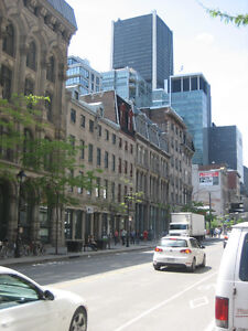 Great Corner Office - Old Montreal - Square Victoria