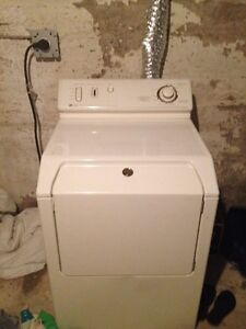 Older working washer and dryer