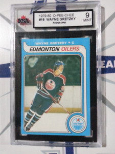 GRETZKY OPC ROOKIE GRADED 9