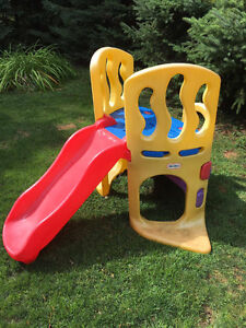 Little tikes outdoor slide