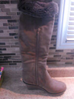 Wedge boots!! Brand new...