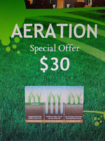PROFESSIONAL LAWN AERATION & ROLLING - BOOK NOW FOR 2017!!!