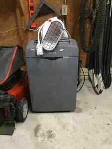 Barely used noma 9000 btu 3 in 1 portable air conditioner