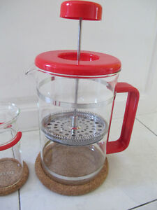 Brazil French Press Coffee Maker - BODUM NEW (UNUSED) West Island Greater Montréal image 3