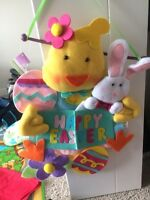 Happy Easter wall hanging