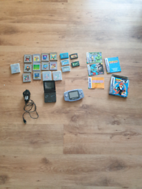 GameBoy Advance & Advance SP plus 17 Games ONO