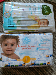 Diapers size 1