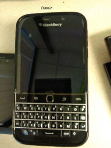Blackberry Classic and Leap - $40 each-Locked to Bell