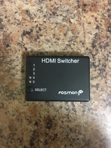 Fosmon HD1832 Intelligent 5x1 5-Port HDMI Switch/Switcher