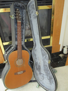 Seagull Coastline S6 Folk Acoustic Guitar  Cedar plus hard case.