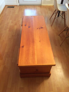 Solid wood chest/ Coffee table London Ontario image 2