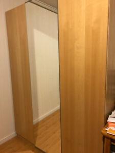 Armoire IKEA PAX, 3 portes, 150 x 60 x 201 cm