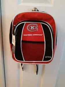 Montreal Canadians backpack.  New!